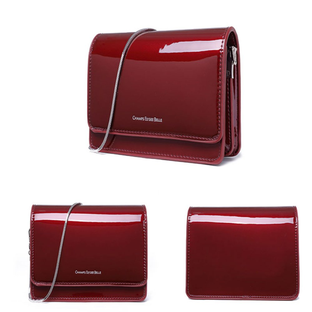 GAOQQ Die Mädchen-Ketten-Tasche Trend Simple Simple Simple Diagonal Paket Retro Mini Bag,Wischwarzt B07D78ZYBJ Schultertaschen Qualitätskleidung a464c1