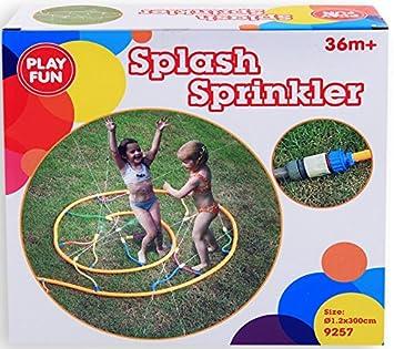 Wasserspiel Schlauch Kinder Dusche Garten Wasser Fontane Spiel