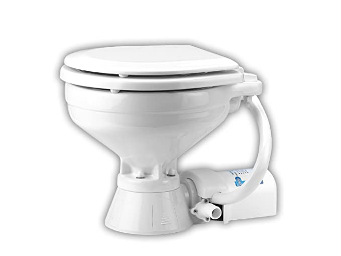 Best Up-Flush Toilet: Jabsco 37010
