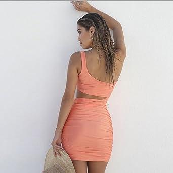 Lialbert letnia sukienka damska krÓtka dopasowana do figury elegancka sukienka etui, dopasowana sukienka na ołÓwek, bez ramienia, sukienka wieczorowa, ładna, bez ramiączek, sukienka casuel bodycon - b