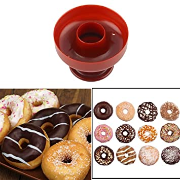 Kitchen Ware Llc - Molde para molde de donut para repostería, 1 pieza, molde para cortar pan: Amazon.es: Hogar