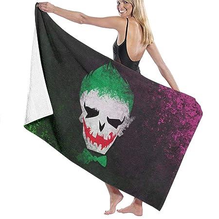 Duyhat Suicide Sq-uad Joker Pool Beach Towel Luxury ...