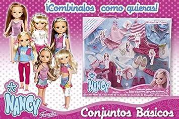 Amazon.es: Nancy - Pack Basic Set (Famosa 8779): Juguetes y juegos