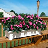 Adams 36-Inch Deck Planter