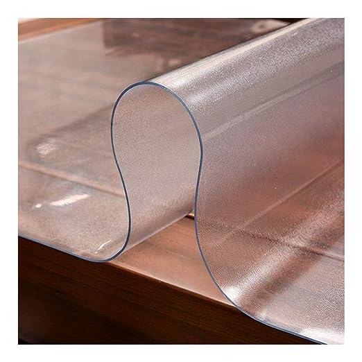 HUJSH Mantel Transparente De PVC Plástico Claro Multi Size Pad ...
