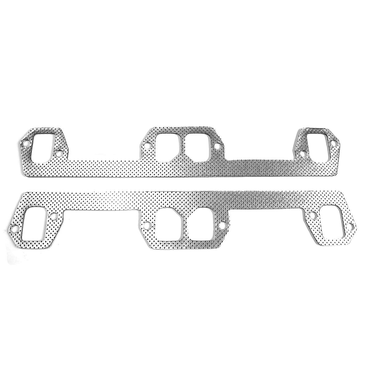 Replacement Parts Aluminum Exhaust Manifold Header Gasket Set for ...