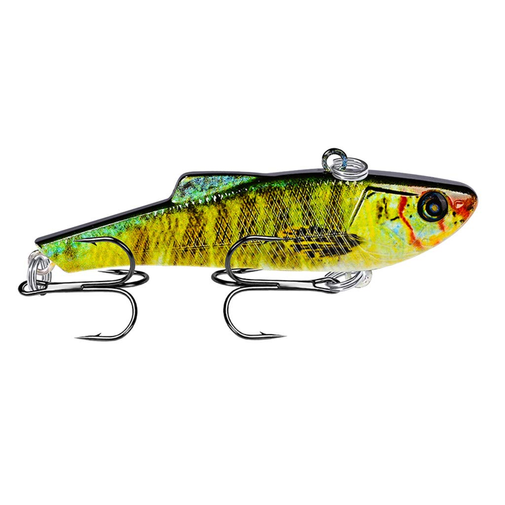 HighlifeS Fishing Bait Newest Artificial Fake Fish Bait More Colors Fishing Lure Bait Bionic Fishing Gear 1Pc (A)