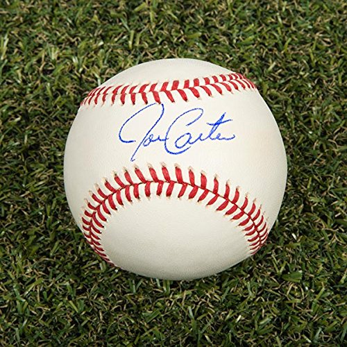Joe Carter Autographed MLB Official Major League Baseball - Toronto Blue Jays A.J. Sports World