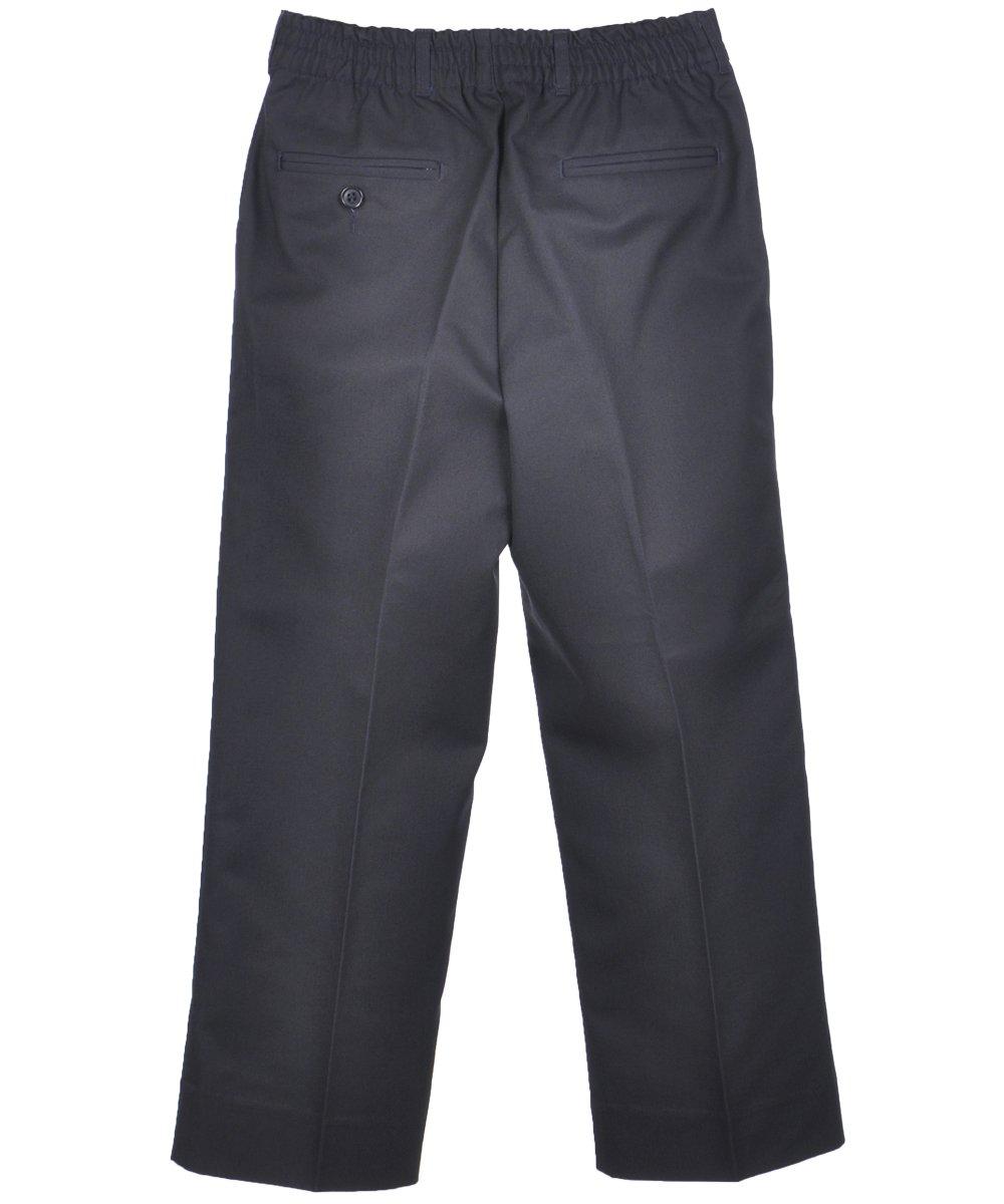 Rifle Big Boys' Husky Pleated Pants - navy, 40h