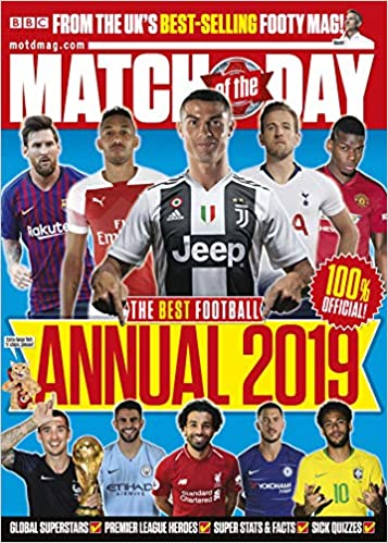 Buy Match of the Day Annual 2019 (Annuals 2019) Book Online at Low