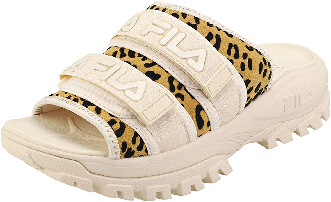 Fila Outdoor Animal Print Slides Women/'s Sandals Shoes