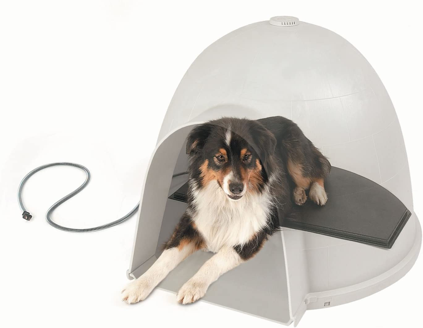 K H Pet Products Lectro-Kennel Igloo Style Outdoor Heated Pad Black – MET Safety Listed