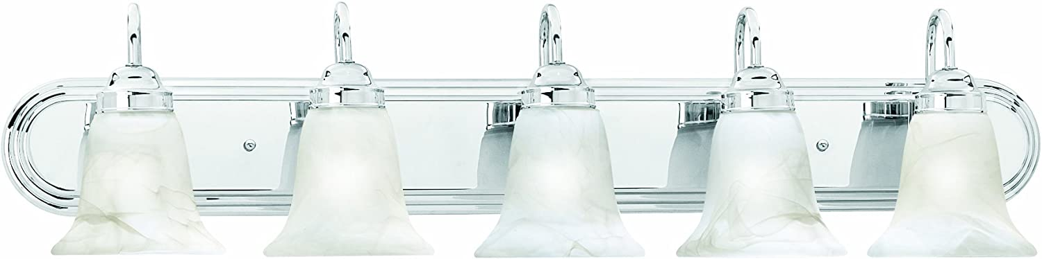 Thomas Lighting SL75854 Homestead Bath Light, Chrome