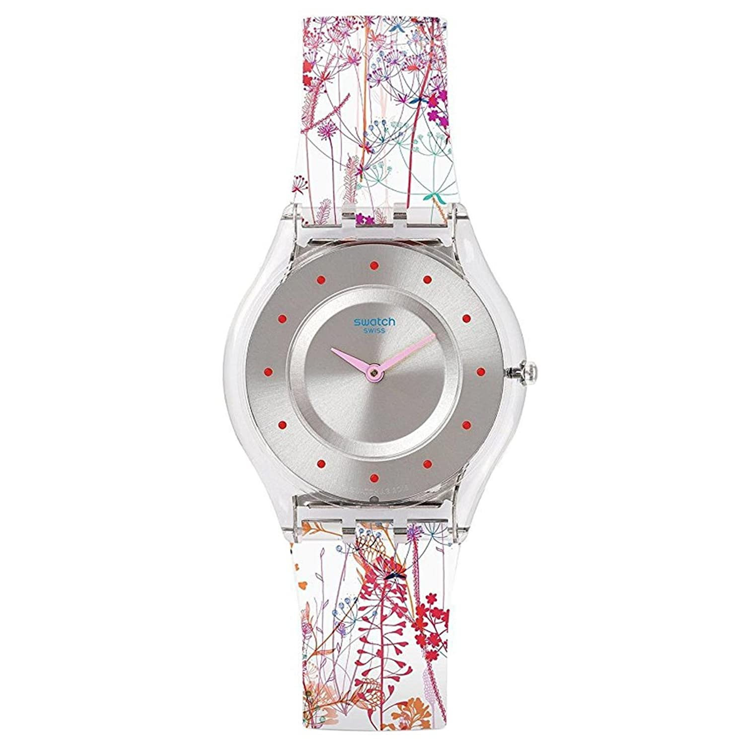 Amazon Swatch JARDIN FLEURI Watch SFE102 Watches