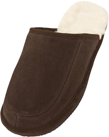 Sheepskin World - Zapatillas de estar por casa para mujer Marrón marrón 1MfOOgEt8