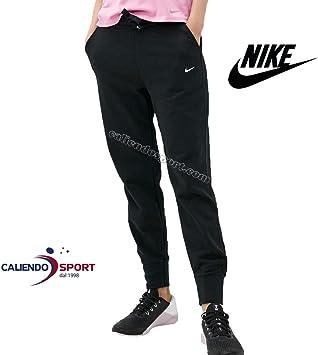 Nike Women S Dry Get Fit Fleece Tape Trousers Black White L Amazon De Sport Freizeit