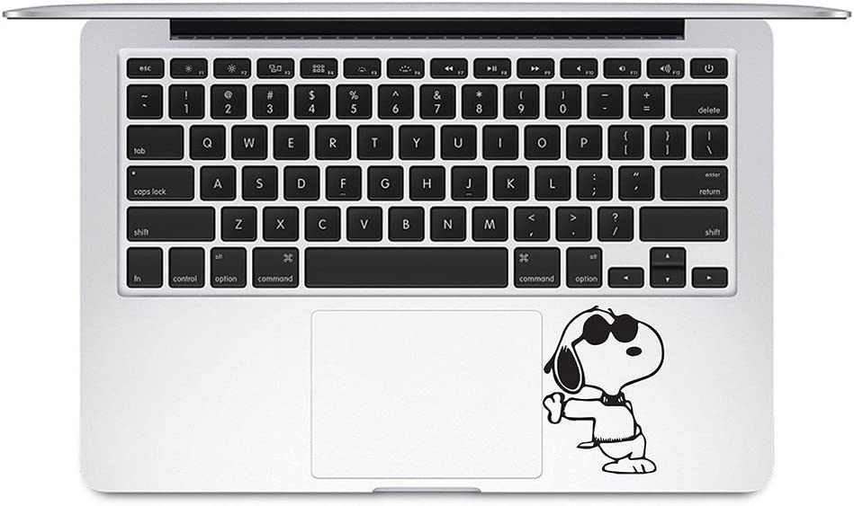 Cool Snoopy Trackpad Keyboard Compatible with MacBook Decal Vinyl Sticker Mac Air Pro Laptop Sticker