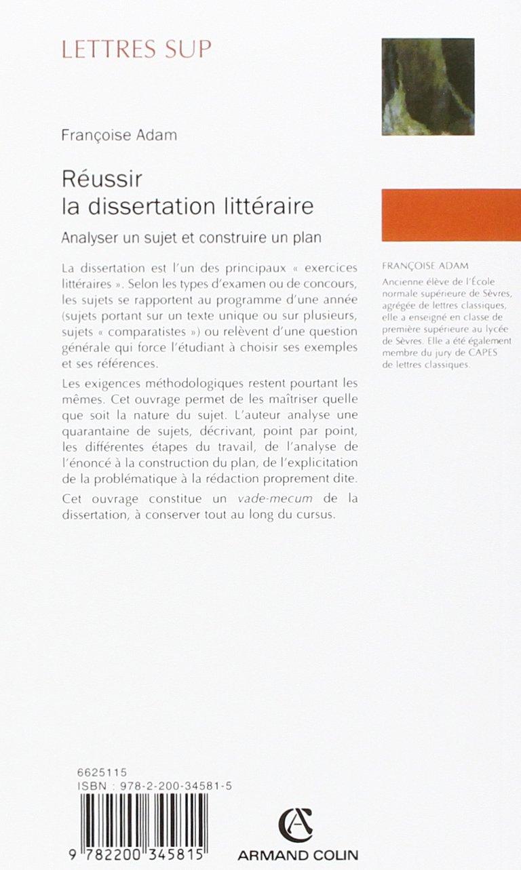 sujet de dissertation classe de 4eme