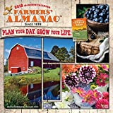 Farmers Almanac 2018 12 x 12 Inch Monthly Square Wall Calendar - Weather, Lore and More