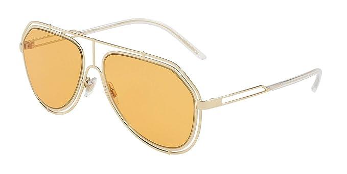 Gafas de Sol Dolce & Gabbana EMPTY CUT DG 2176 PALE GOLD ...