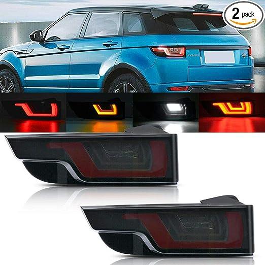 new model rear left hand body tail light unit lr128380 range rover evoque 2019
