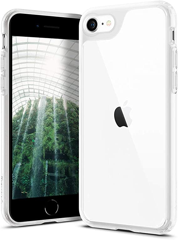 Amazon Com Caseology Waterfall For Apple Iphone Se 2020 Case For Iphone 8 Case 2017 For Iphone 7 Case 2016 Frost Clear