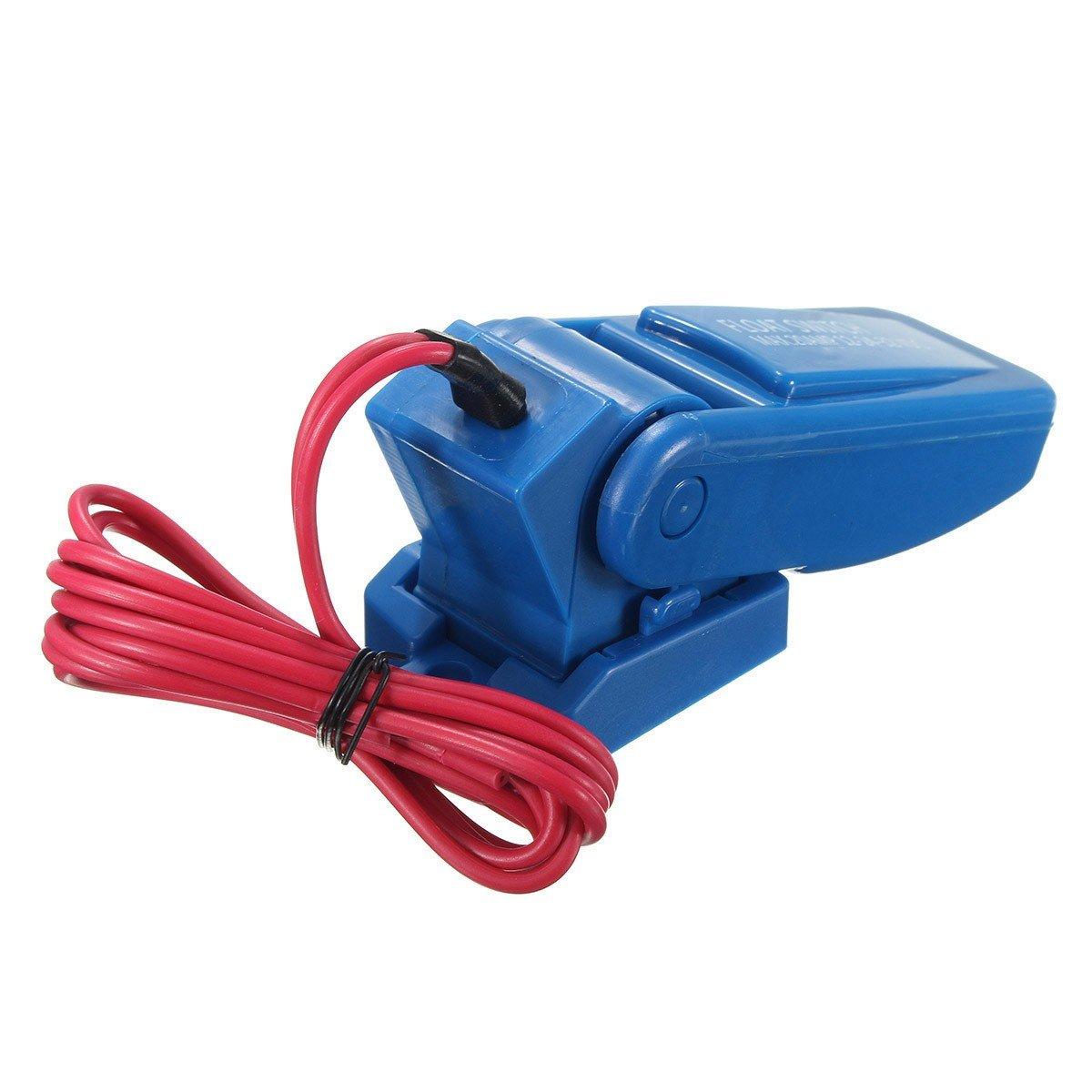 mk-cfs12 automático eléctrico bomba de agua interruptor de flotador DC bomba de achique interruptor Sensor de flujo: Amazon.es: Jardín