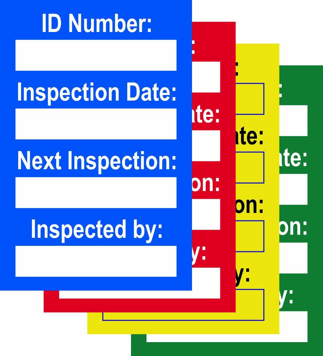 Arnés inspección de varios colores (inserciones de 20, 10 Verde ...