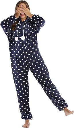 Orshoy – Mono de Mujer para Dormir, Pijama de una Sola Pieza ...