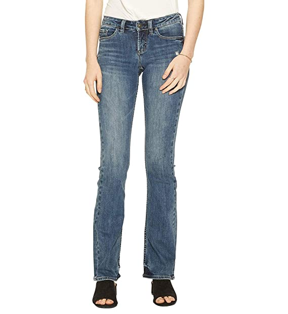 a2afe763c74 Silver Jeans Co. Women s Tuesday Low Rise Slim Bootcut Jean  Amazon ...