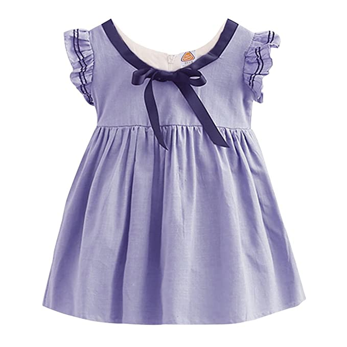 bf239ad8bcf Mud Kingdom Preppy Girls Dresses Butterfly Sleeve  Amazon.ca ...