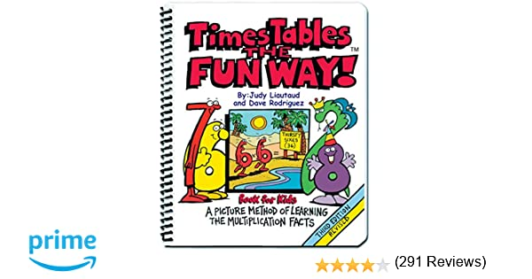 Times Tables the Fun Way: Book for Kids: A Picture Method of ...