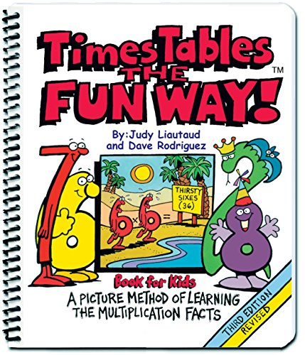 Times Tables the Fun Way Book for Kids: A Picture Method of Learning the Multiplication ()