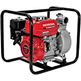Honda - General Purpose 2-Inch Centrifugal Water Pump with GX12 118cc Series Commercial Grade Engine and 164 GPM Capacity - W