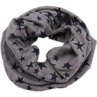 Lodenlli Bufanda para niños Cuello Unisex Bufandas para el Cuello Anillo de decoración de Estrellas Diseño sólido…