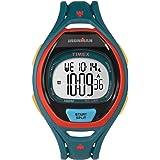 Timex TW5M01400 Ironman 150-Lap Full Size Sleek Blue Resin Strap Chronograph Watch