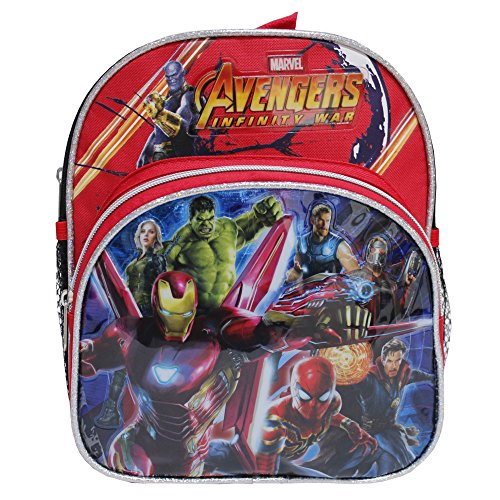 Marvel Avengers Infinity War Black & Red Mini Toddlers' Backpack