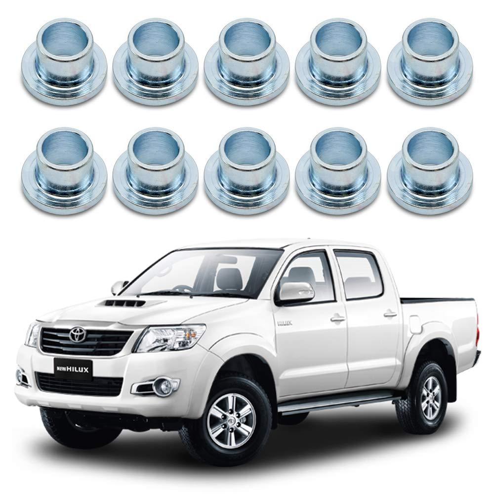 Nonstops Rear Door Tail Gate Hinge Bush For Toyota Hilux Vigo Pickup Sr5 2005 2014 by Nonstops