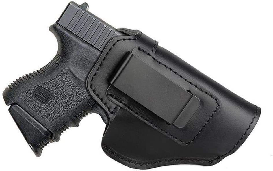 NO LOGO L-Yune, Funda de Cuero Oculta Funda de Pistola for Sig Sauer P226 SP2022 P229 P250 Glock 17 19 43 Beretta 92 Accesorio de Funda (Color : B)