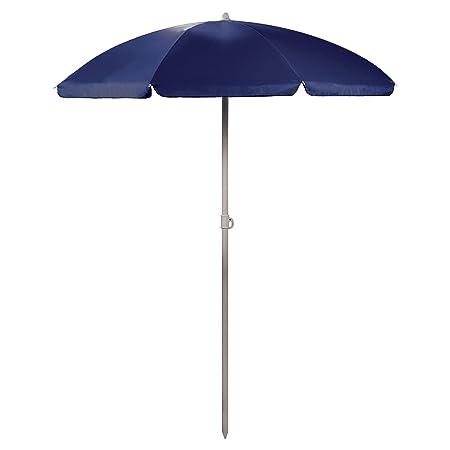 Picnic Time 822-00-138-000-0 Umbrella 5.5 Portable Beach Picnic Umbrella - Navy