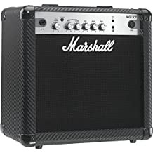 Marshall MG4 Carbon Series MG15CF 15 Watt Guitar Combo Amplifier with 2 Channels and MP3 input
