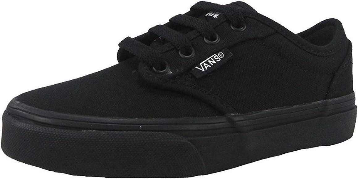 Vans Atwood Black Canvas Skate Sneakers