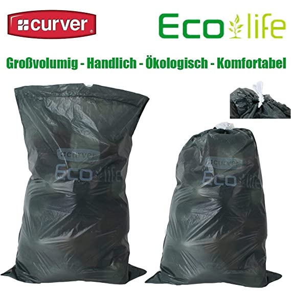 Curver 4x10 Pieza Eco Residuos Life Bolsas de Basura 50 ...