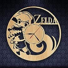 Zelda Gifts Wood Clock Wall Art Home Decor Design
