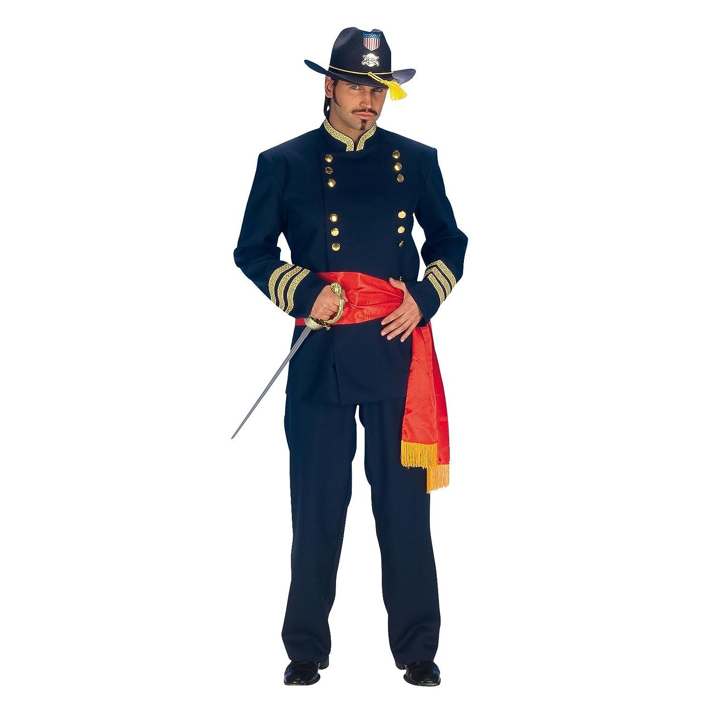 Costume officier nordiste western costume avec ceinture pour Carnaval pour  homme bleu - 56  Amazon.fr  Sports et Loisirs 6289784a5b6