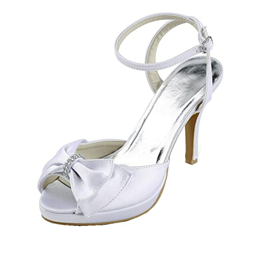 eca0a9505be9f Amazon.com | Minishion Girls Womens Platform Slingback High Heel ...