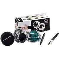 Fatetec Waterproof delineador de Ojos en Gel Eyeliner,2 en 1 Kit de cosméticos diseño