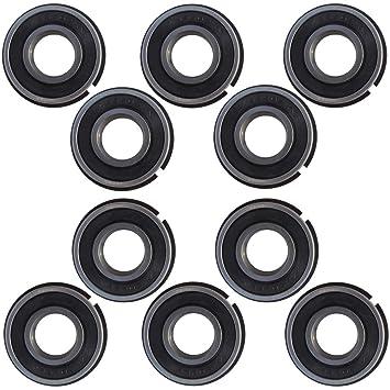 Pro Braking PBR6740-BLU-SIL Rear Braided Brake Line Blue Hose /& Stainless Banjos