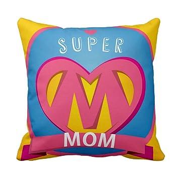 Buy Yaya Cafe Birthday Gifts For Mother Wonderful Super Mom Cushion