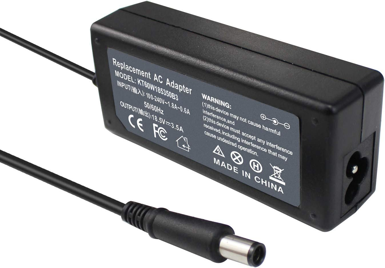 ROCKETY Compatible hp probook Power Adapter Replacement for hp Charger ProBook 450 430 440 445 455 470 G0 G1 G2 4540S 4545S HP Folio 9470m 9480m Laptop Notebook Cord Supply.
